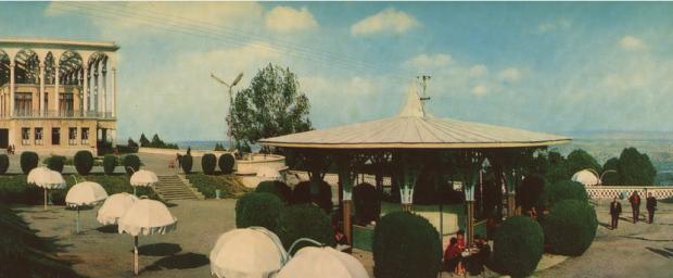 Restaurant at the Mtatsminda Park