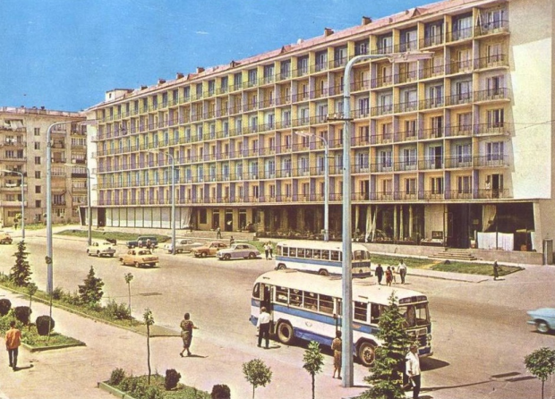 Hotel Abkhazia (The building has been demolished in 2011-2012)