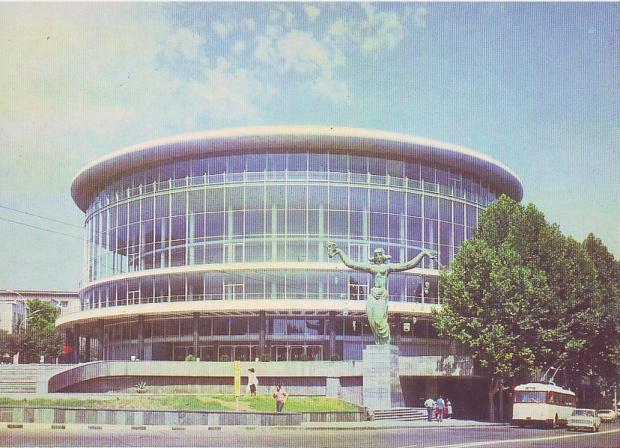 Tbilisi Philharmonic (Currently Tbilisi Concert Hall)