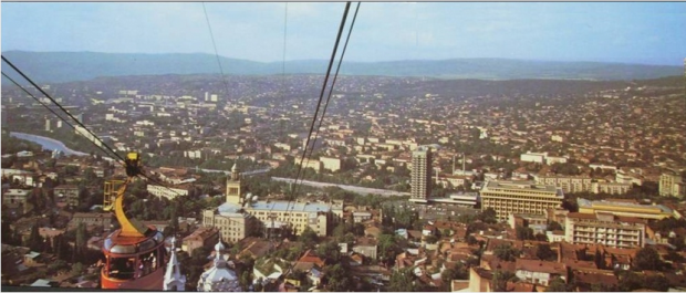 A view from the Tbilisi Funicular